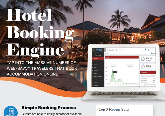 Web88 CMS - Online Booking